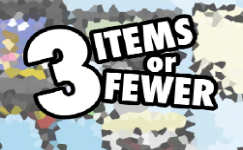3-items-or-fewer